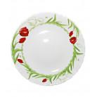 "Десертная тарелка ""Тюльпан"" Ø19см, стеклокерамика ST-30030TUL"