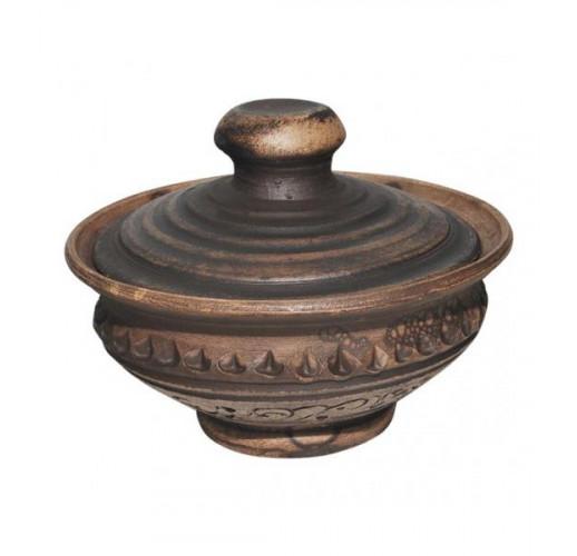 Банка для соли керамическая Покутская Керамика Шляхтянская 150мл ST-503520