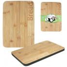 """Доска кухонная """"Bread"""" 20х30см для хлеба, бамбуковая ST-8840"""
