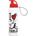 Бутылка спортивная Herevin Run 750мл с петлей для переноса UK-161405-010