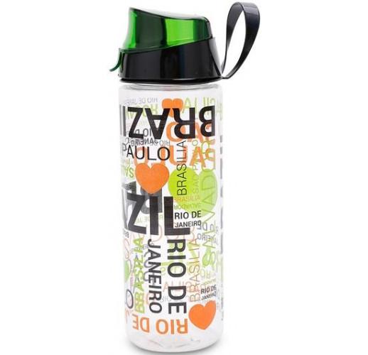 Бутылка спортивная Herevin Brazil 750мл с петлей для переноса UK-161506-005
