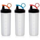 Бутылка спортивная Herevin Shaker 650мл с мерной шкалой UK-161518-000