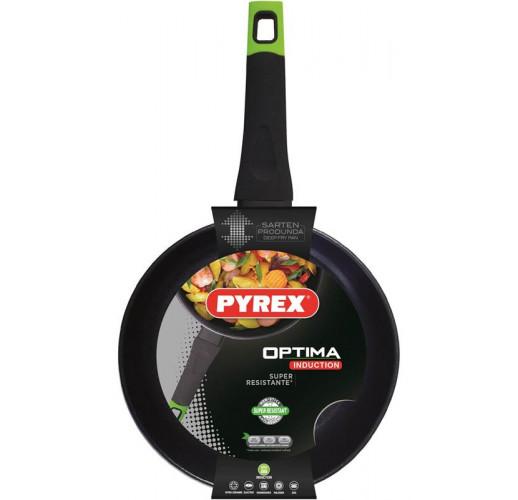 Глубокая сковорода PYREX Optima Ø28см, индукционная UK-OP28BF2